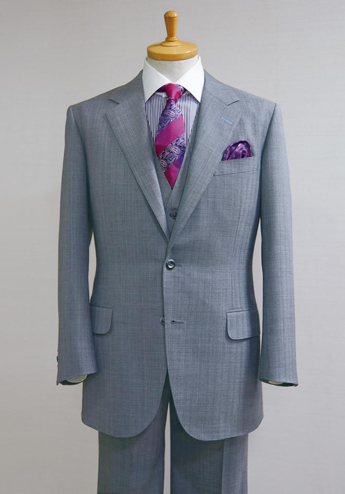 NEW MODEL/ROYAL BRITISH STYLE<br />秋冬向き「ライト−コンフォート」スーツ